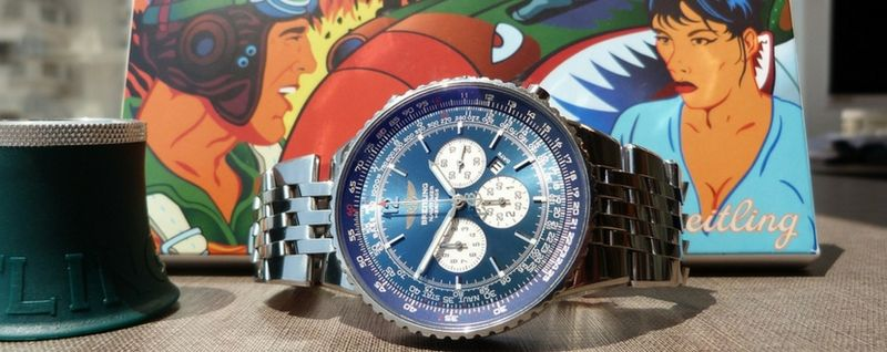 luxury watch breitling
