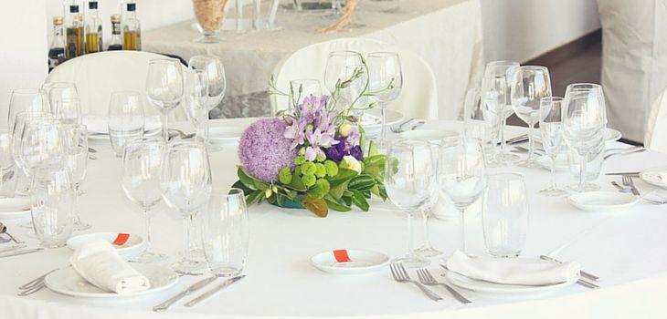 wedding banquet at restaurant