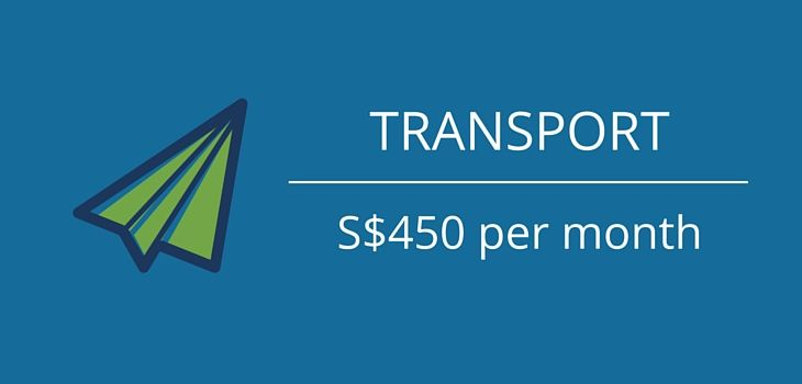 transport costs of a singaporean digital nomad
