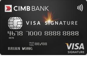 CIMB Visa Signature Card
