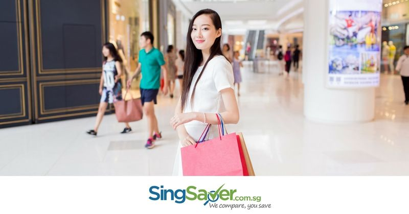 shopping at malls in singapore