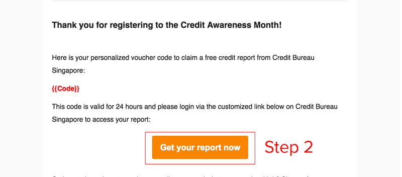 CBS Email - Free Credit Report