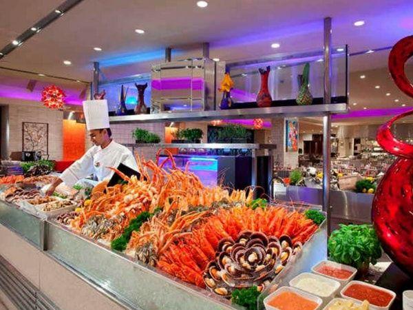 citibank buffet promotion at Carousel, Royal Plaza On Scotts