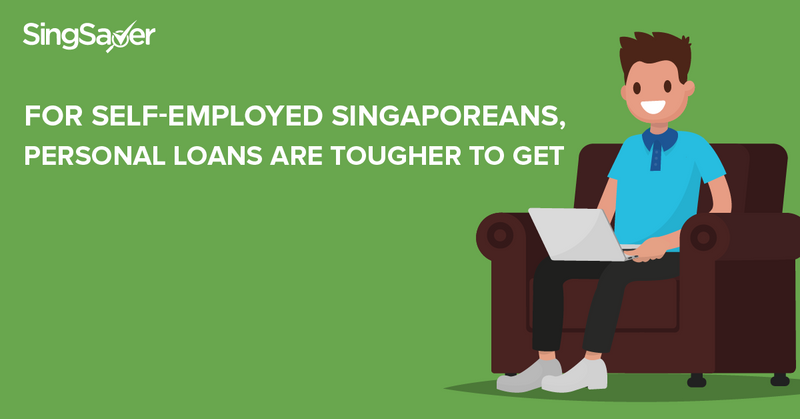 personal loans for self employed singaporeans