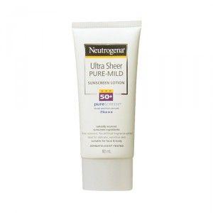 neutrogena-ultra-sheer-mild-sunscreen