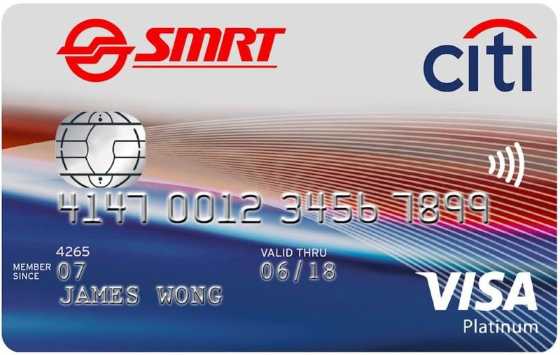 2. Citi SMRT Card - SingSaver