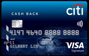 Citi Cash Back Visa Card