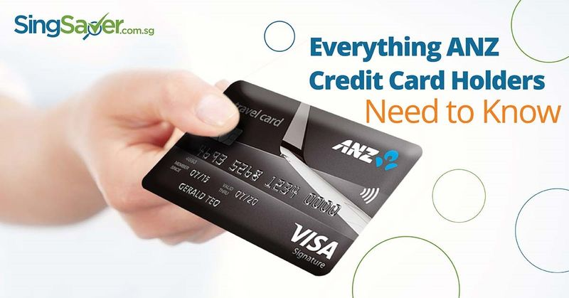 anz credit cards in singapore