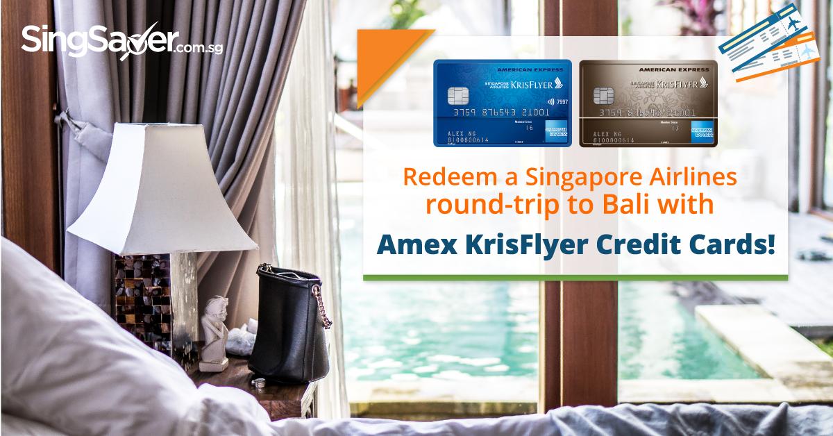 amex bali credit card promotion