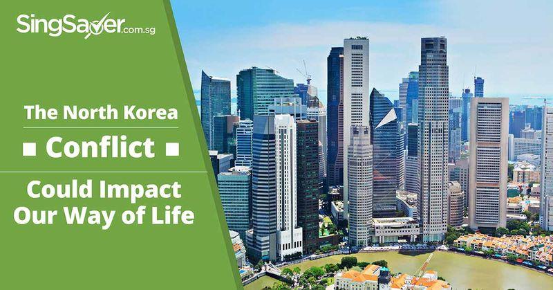 north korea singapore skyline