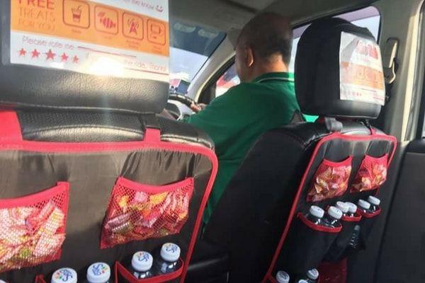 singapore grab taxi driver