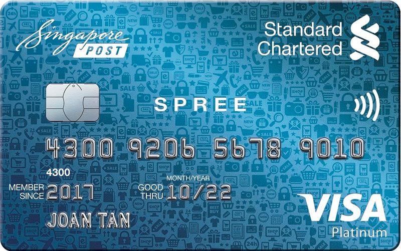 SCB Spree Credit Card