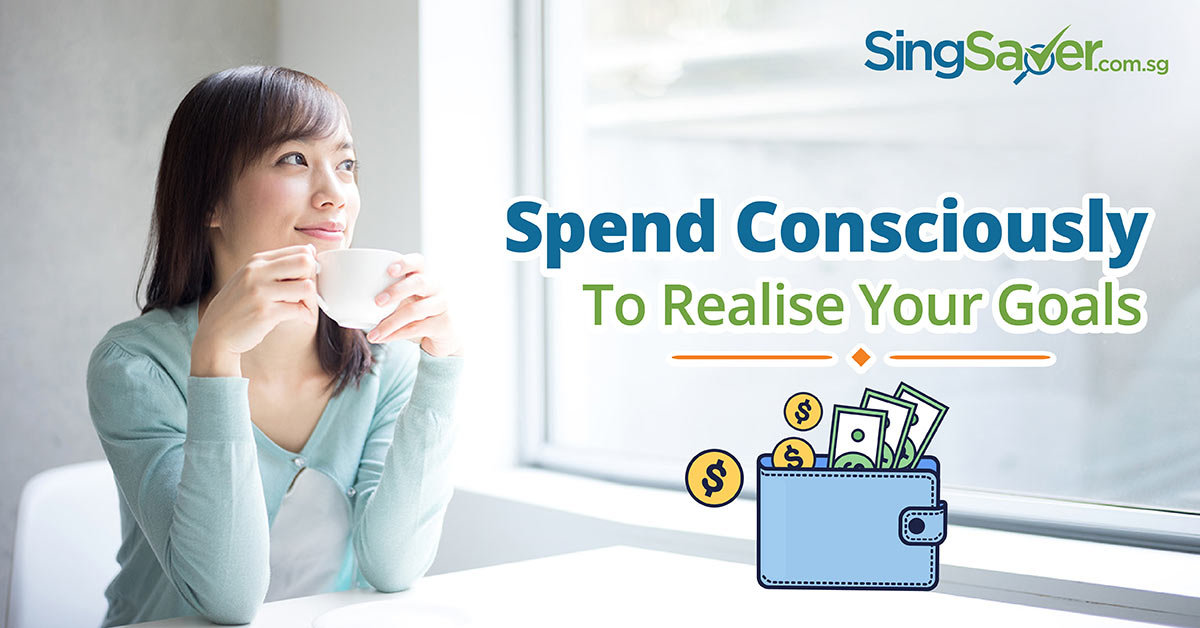 woman thinking about conscious spending