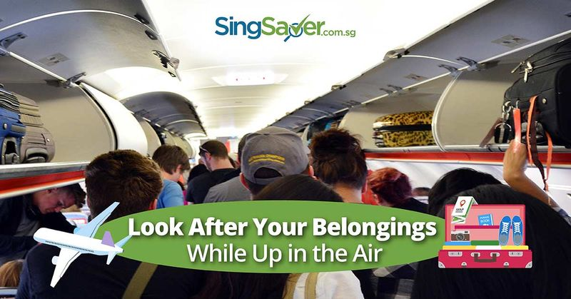 airplane tips to prevent theft in the plane