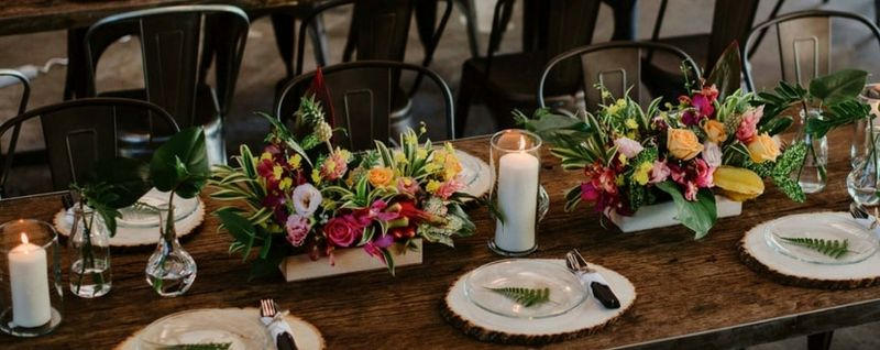 wedding at little island brewing co