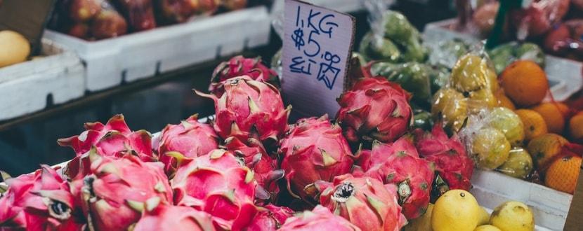 fruits on sale in supermarket- SingSaver