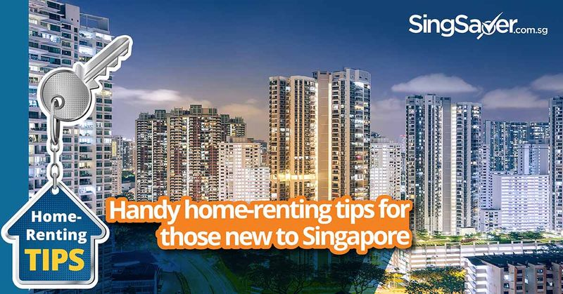 buildings and homes in singapore at night - SingSaver
