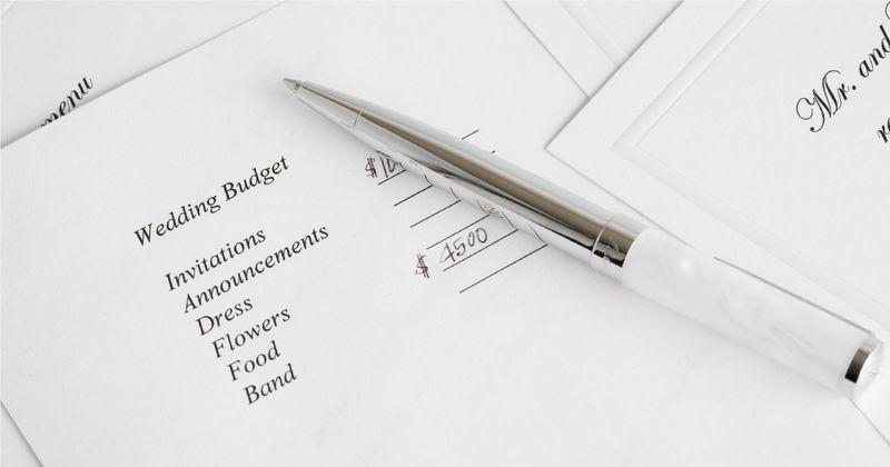 Cost savings in the wedding budget - SingSaver