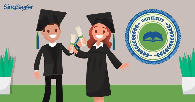 Happy graduations of further education - SingSaver