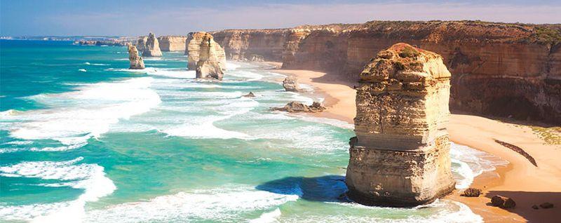 Beach in Melbourne, Australia -SingSaver