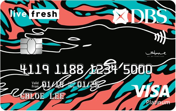 DBS Live Fresh Student Credit Card