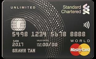 Standard Chartered Unlimited Credit Card - SingSaver