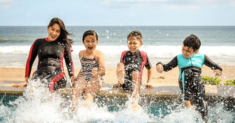 7 Family Holiday Ideas Less Than 7 Hours From Singapore: Surfing   SingSaver