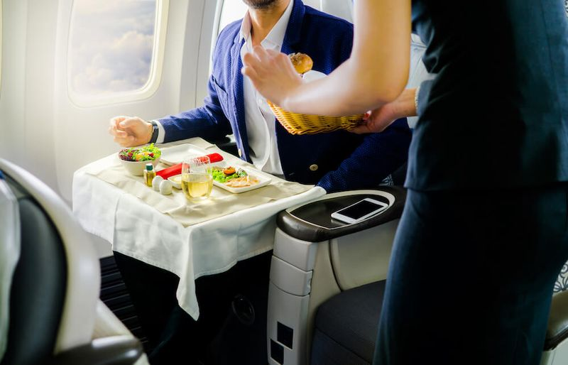 credit card miles for business class