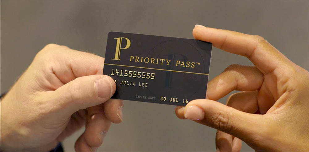 Airport Lounge Priority Pass