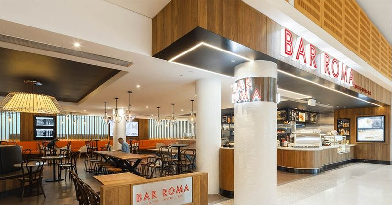 Bar Roma in SYD Airport