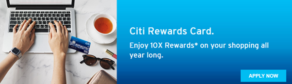 citi rewards shopping