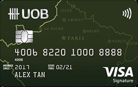 UOB Visa Signature Credit Card