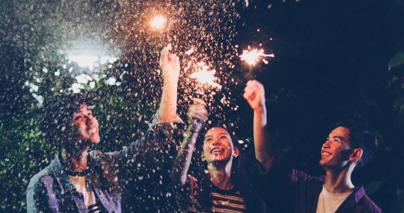 youth having fun