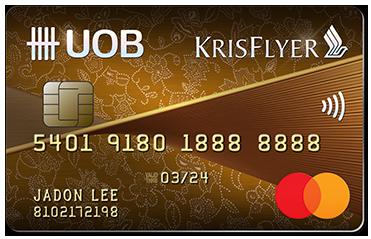 KrisFlyer UOB Credit Card