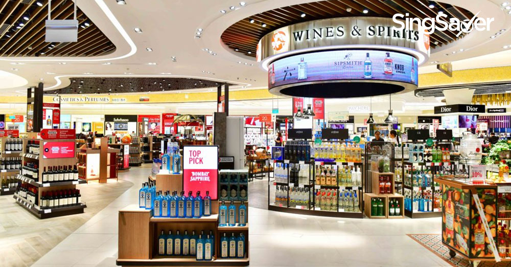 DFS Singapore Pulls Out of Changi Airport | SingSaver