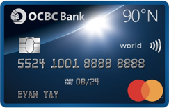 OCBC 90°N Credit Card: Pros and Cons   SingSaver