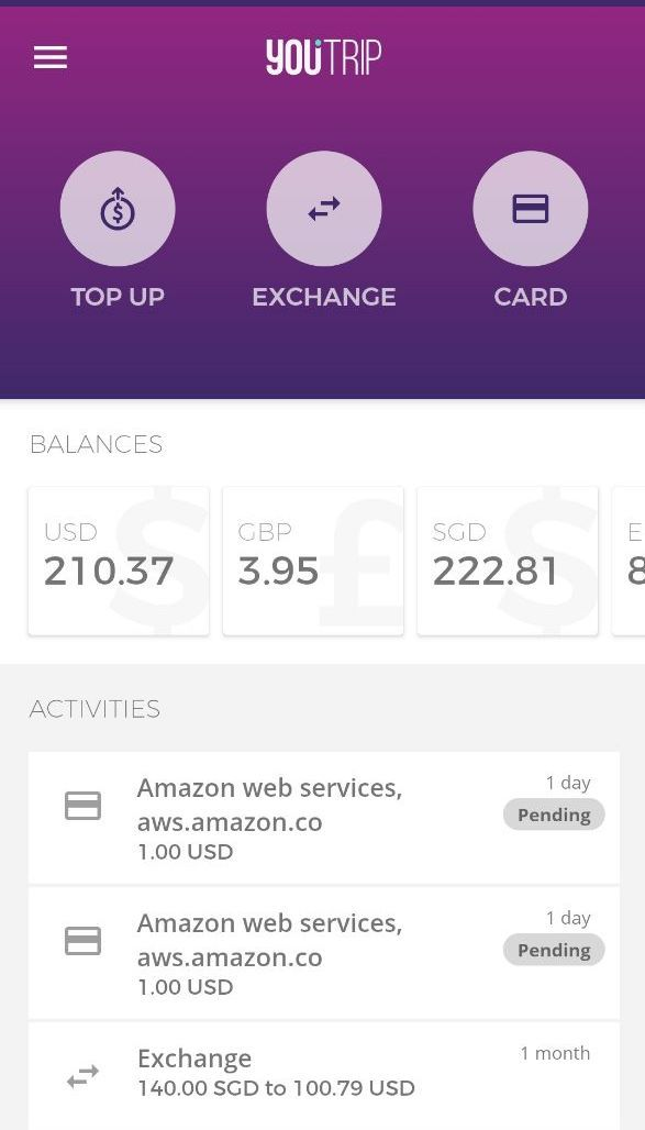 YouTrip Mobile App