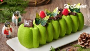 The Best Christmas Log Cake Promotions in Singapore This 2020