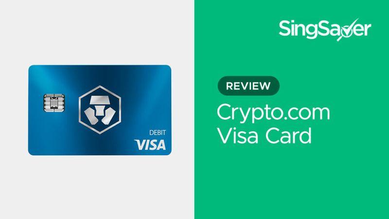 Crypto.com Visa Card Review: Get 8% Card Spend Reward | SingSaver